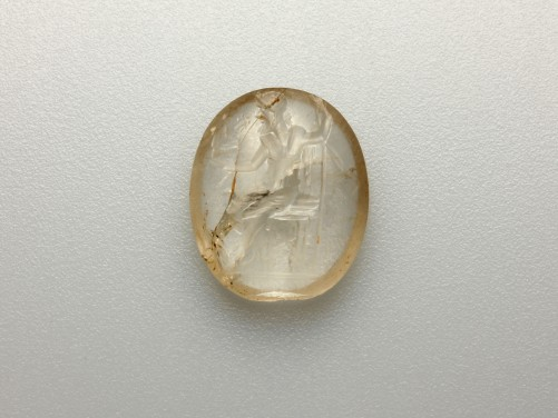 Large Roman Intaglio of Jupiter