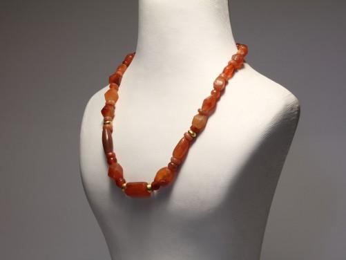 Near Eastern Carnelian Necklace