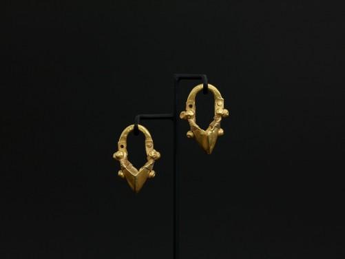 Near Eastern Gold Earrings