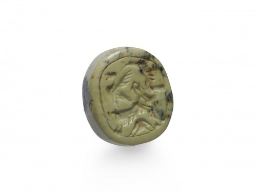 Mesopotamian Agate Stamp Seal