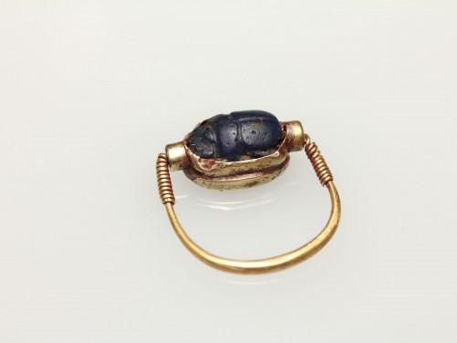 Phoenician Gold Swivel Seal Ring