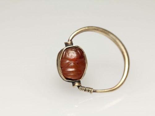 Phoenician Seal Ring with Pazuzu