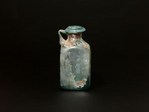 Roman Blue Glass Jug