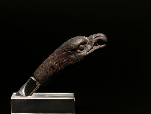Roman Bronze Eagle Pommel