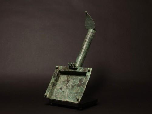 Roman Bronze Incense Shovel