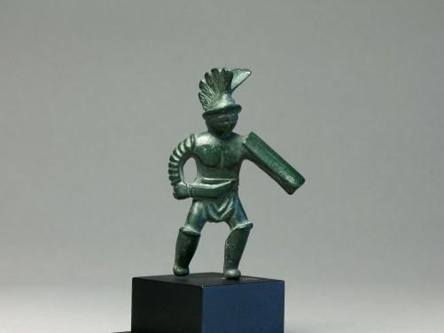 Roman Bronze Gladiator