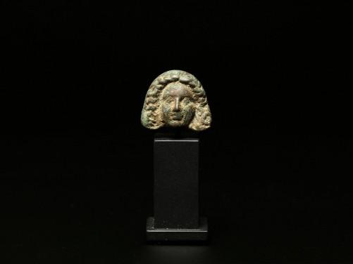 Roman Bronze Theater Mask