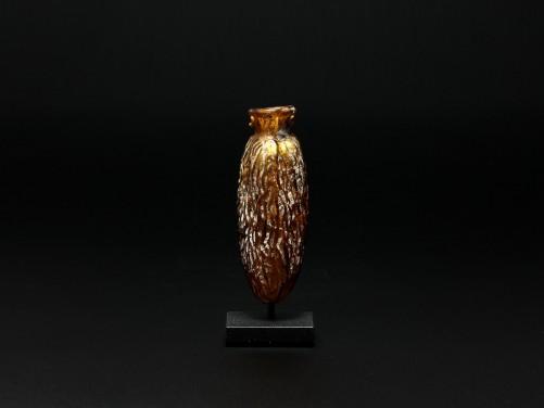 Roman Glass Date Flask