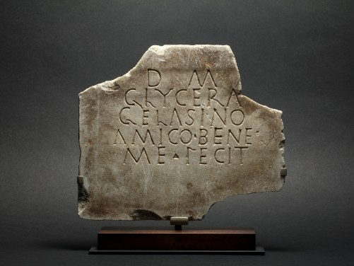 Roman Marble Funerary Inscription