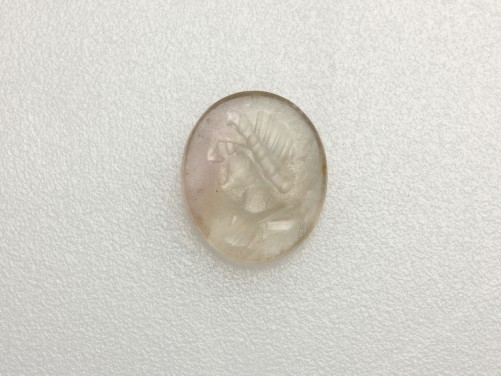 Roman Rock Crystal Intaglio of Sol