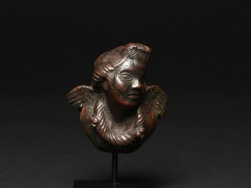 Roman Appliqué of a Winged Eros