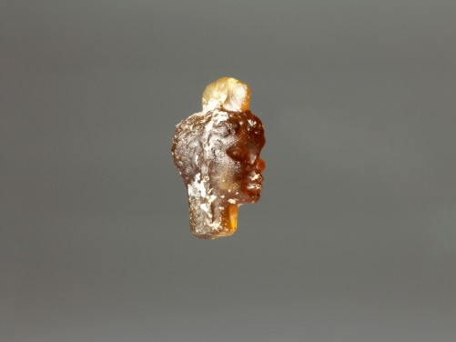 Roman Glass Head Pendant