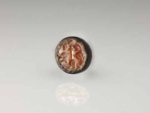 Sasanian Carnelian Stamp Seal