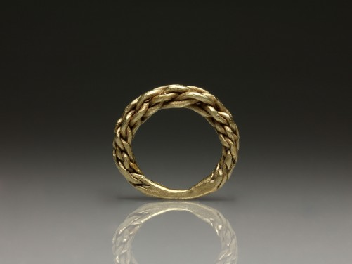 Viking Gold Finger Ring