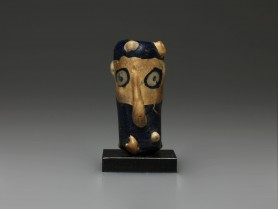 Carthaginian Janiform Glass Head Bead