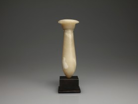 Egyptian Alabaster Mirror Handle