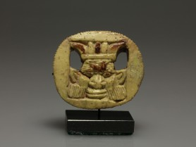 Egyptian Plaque Amulet of Bes