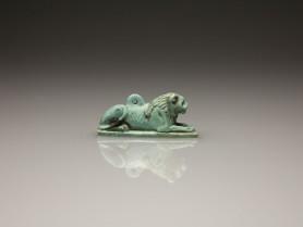 Egyptian Recumbent Lion Amulet