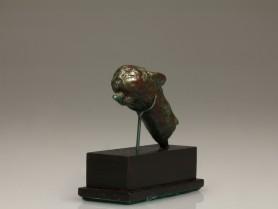 Roman Bronze Panther Finial