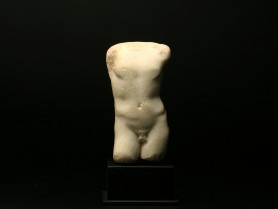 Roman Marble Torso of an Athlete