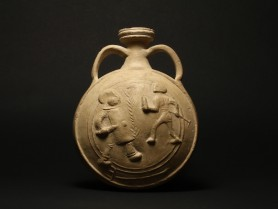 Large Roman Pilgrim Flask
