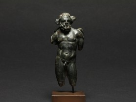 Roman Bronze Figure of Hercules