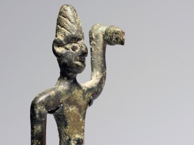 Canaanite Bronze Smiting God