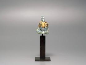 Carthaginian Glass Head Pendant