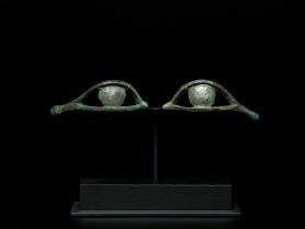 Egyptian Bronze Eye Inlays