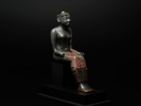 Egyptian Bronze Figure