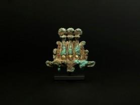 Egyptian Bronze Hemhem Crown