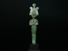 Egyptian Bronze Osiris