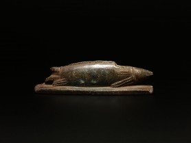 Egyptian Bronze Oxyrhynchus Fish