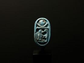 Egyptian Faience Finger Ring