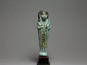 Egyptian Faience Shabti for Ren