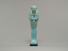 Egyptian Faience Shabti of Tius