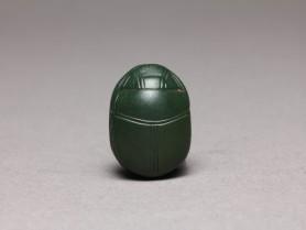 Egyptian Green Jasper Scarab