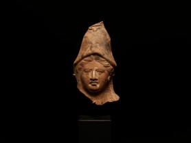 Terracotta Head of Athena