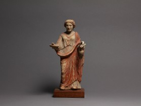 Greek Terracotta Figure of a Woman