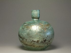 Large Roman Glass Bottle