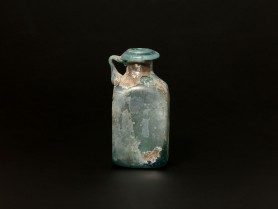 Roman Blue Glass Jug