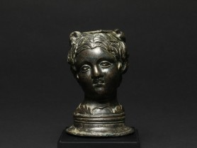 Roman Bronze Balsamarium