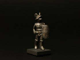 Roman Bronze Murmillo Gladiator