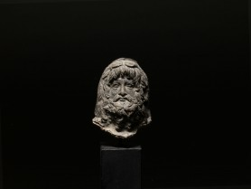 Roman Terracotta Serapis Head
