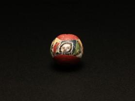 Roman Mosaic Glass Face Bead