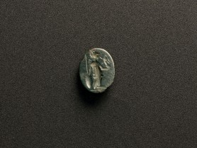Roman Serpentine Intaglio of Athena
