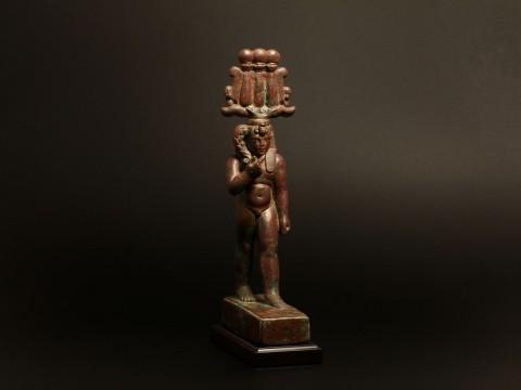 Egyptian Bronze Harpocrates